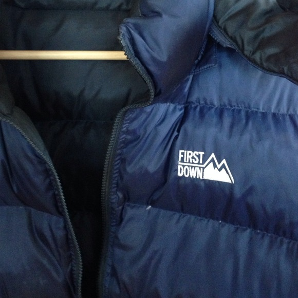 85% off First Down Outerwear - First Down reversible down coat ...