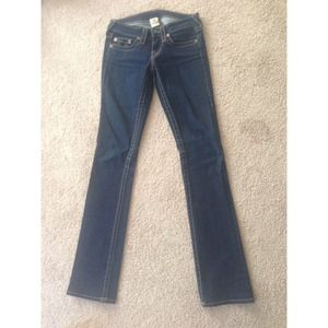 True Religion Denim - True Religion straight leg jeans