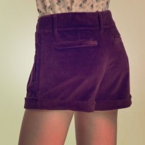 Juicy Couture Other - Velvet Eggplant Shorts