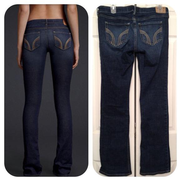 62% off Hollister Denim - Like new Hollister Bootcut Jeans Medium ...