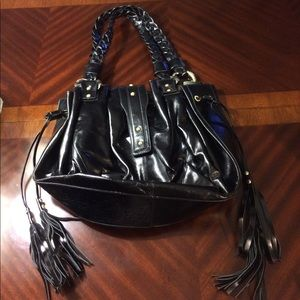 Anteprima Nueve black leather handbag