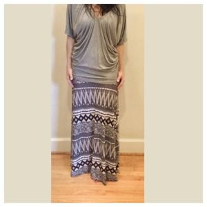 Last Aztec skirt LAST ONE SALE