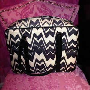 Missoni Handbags - Missoni For Target Black&White Chevron Travel Bag
