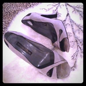 Steven Heather Gray Pinup Style Pump SZ 8.5