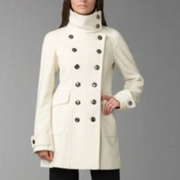 54% off Burberry Jackets & Blazers - Burberry wool-cashmere coat ...