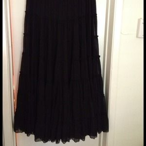 NEW REDUCTION!!! H & M fabulous black maxi skirt