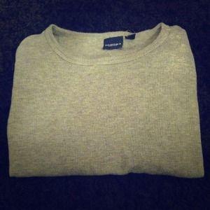 Gray long sleeved Tshirt