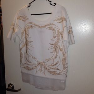 Zara shirt from w&b collection sz S
