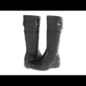 New Anne Klein Sports leather boots