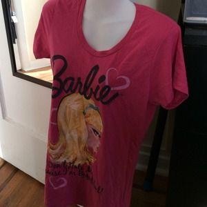 Barbie Tee nwt sz L