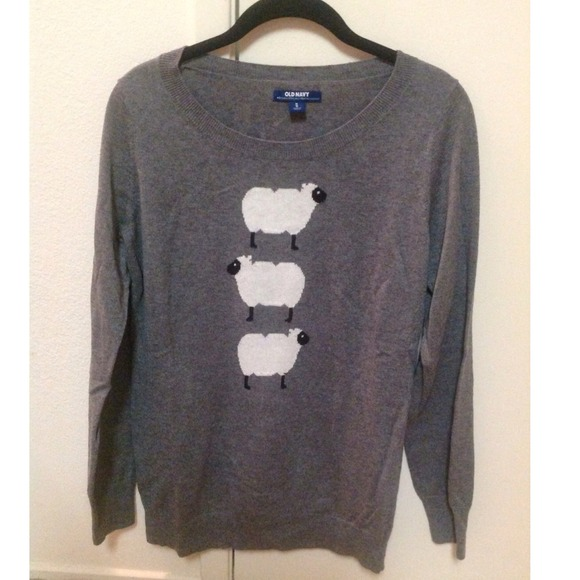 39% off Old Navy Sweaters - Three sheep sweater from Patricia's ...