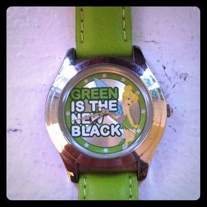 Green Tinkerbell watch