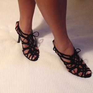 Calvin Klein Shoes - Black suede sandals