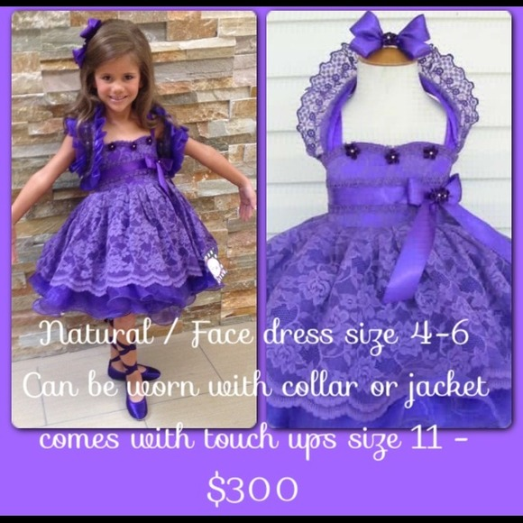 Kati Niles - ❌SOLD❌Custom Natural Face Pageant Dress Size 4/6 ...
