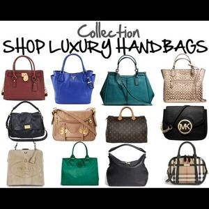 Designer Brands Handbags - Shop My Luxury Handbag Collection!