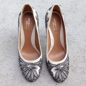 Embroidered Sergio Rossi Pumps