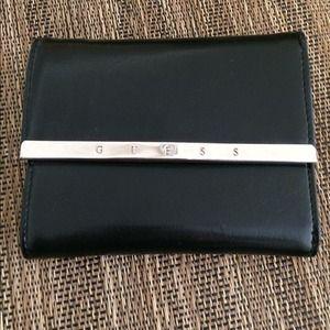 Handbags - NWOT! Guess leather mini wallet