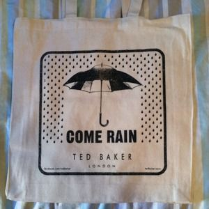 Ted Baker Handbags - Ted Baker London canvas tote-limited edition
