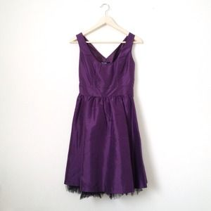 SALE - ✨HP!!✨ Kensie purple silk dress!