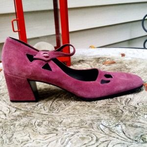 Miu Miu Shoes - Authentic Miu Miu lavender suede heels