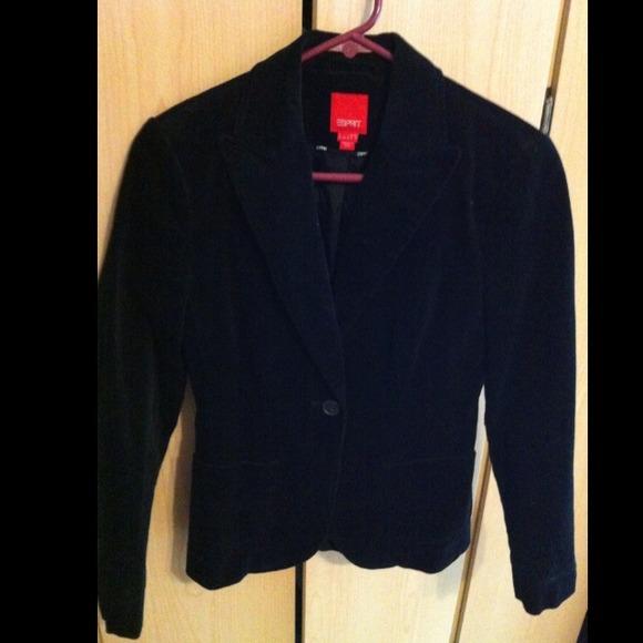 buy best half off aliexpress Black Corduroy Blazer!