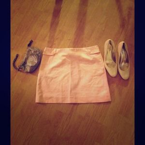 JCrew Mini Skirt in Pink