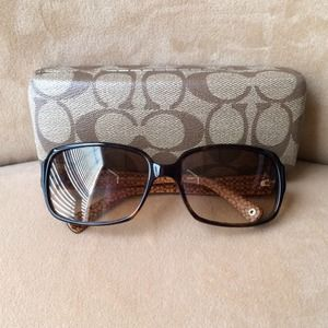 Coach Accessories - Authentic Coach Sunglasses