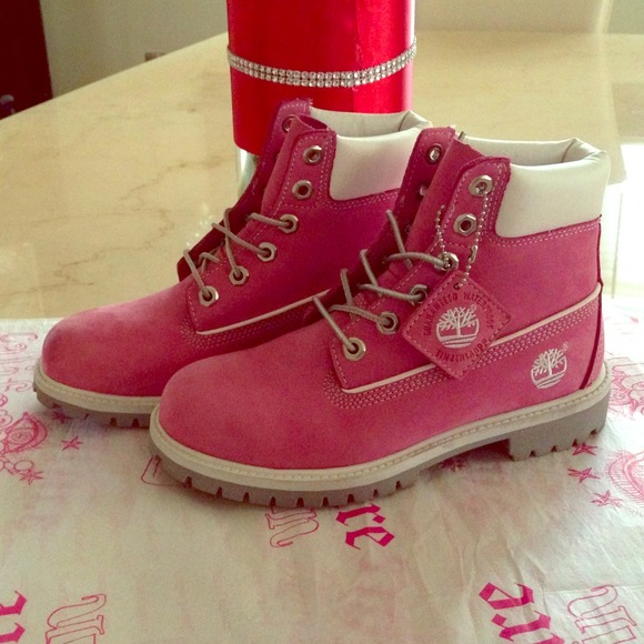 21239adc7be01 Timberland Shoes | Pink Boots | Poshmark