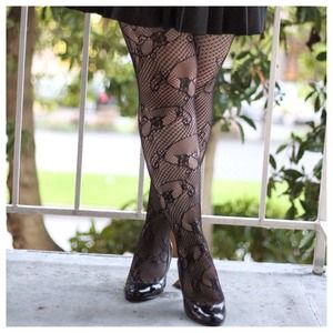 🌟HOST PICK🌟 Givenchy 30509 Lace Patterned Tights