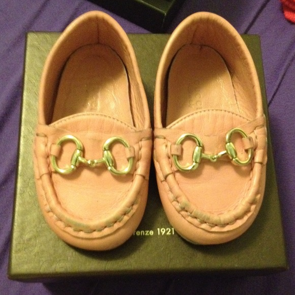Gucci Baby Shoes Moccasin