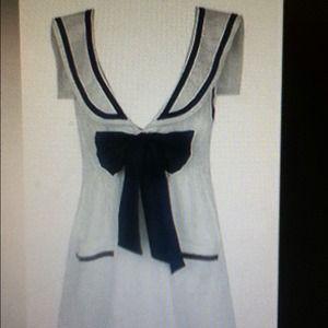 Forever 21 sailor/nautical dress