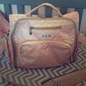 HOLD Jujube BFF diaper bag in Blush Frosting