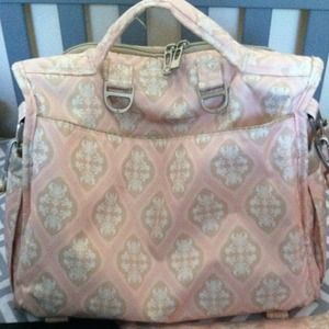 Bags - HOLD Jujube BFF diaper bag in Blush Frosting