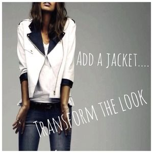 Add a Jacket to Transform any Look!