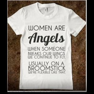 Women are angels?