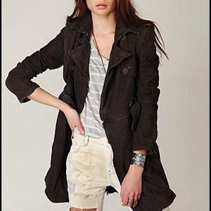 Muubaa Jackets & Blazers - Free People MuuBaa leather convertible trench coat