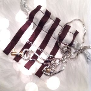 HENRI BENDEL Long Chain Key Necklace
