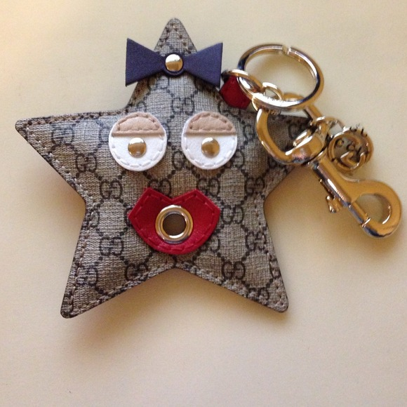 9c496b7562f REDUCED  Gucci Star Charm Keychain