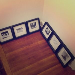Other - Black picture frames.