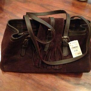 Authentic Burberry handbag. Unused with tags.