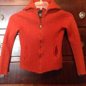 Sweaters - Wool zip up