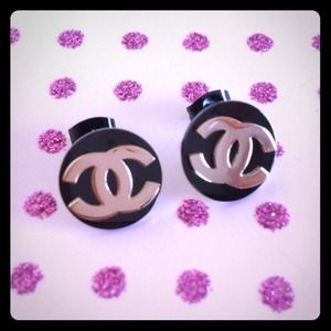 CC Rose Gold Earrings