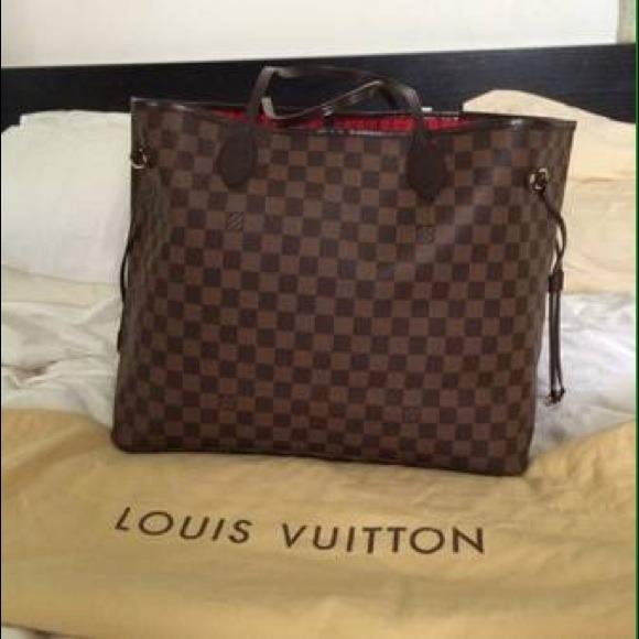 Louis Vuitton Handbags - Authentic LOUIS VUITTON NEVERFULL GM d3b3c136c8
