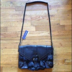 Rebecca Minkoff Bags - 🎉8X HP🎉Rebecca Minkoff Black Fur Clutch Purse 3