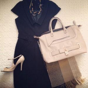 ASOS Black Sheath Dress