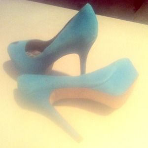 Sam edelman teal pumps