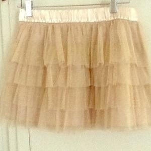 Gold colored Tutu Skirt ❤️❤️❤️