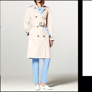 3.1 Phillip Lim Dresses & Skirts - Phillip Lim Trench Coat in Khaki and Blue