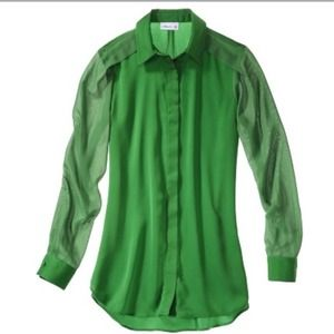 Limited Edition 3.1 Phillip Lim Green Long Sleeve