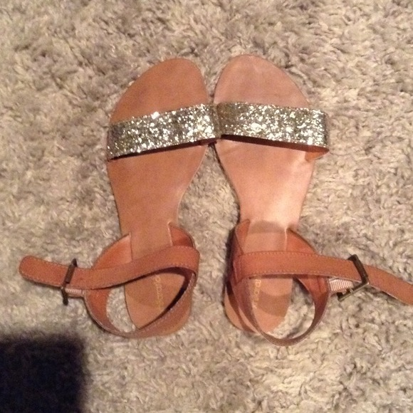 07d9940ab372c7 Adorable sparkly sandals from target. M 52843d8137a60105df0035b5